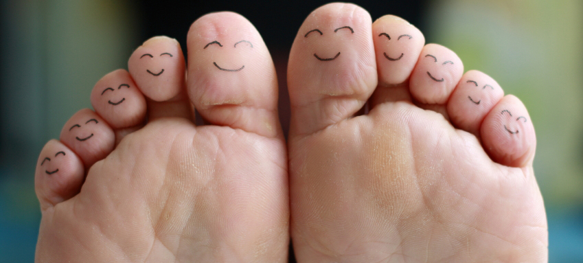 Happy feet - happy body!
